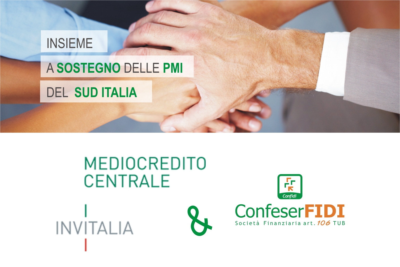 Mediocredito Centrale e Confeserfidi siglano un accordo di collaborazione a supporto delle PMI del Mezzogiorno