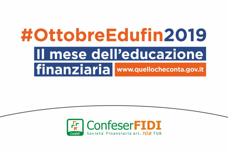 Confeserfidi partecipa al Mese dell'Educazione Finanziaria
