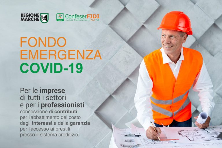 REGIONE MARCHE - Fondo Emergenza Covid-19
