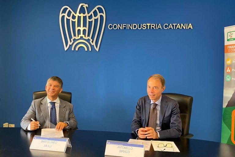 Credito e Finanza, al via l'accordo tra Confindustria Catania e Confeserfidi